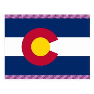 Colorado Flag Post Card