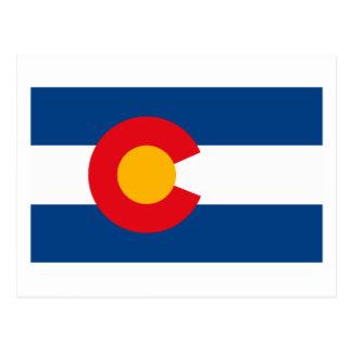Colorado Flag Postcard