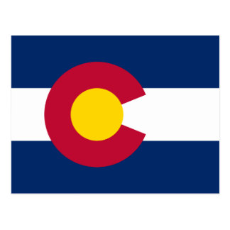 Colorado Flag Postcard