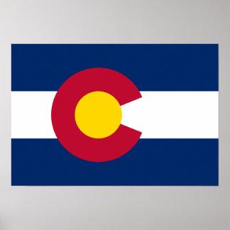 Colorado Flag Poster