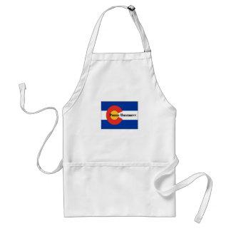 Colorado Flag Poudre University Apron