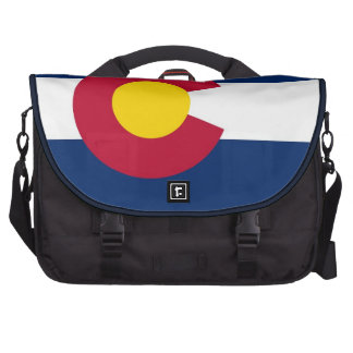 Colorado Flag Rickshaw Laptop Bag