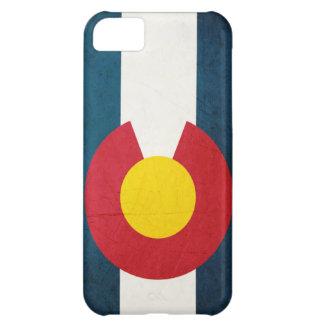 Colorado Flag Rustic iPhone 5C Case