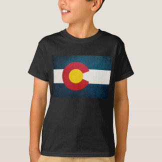 Colorado Flag Rustic T-Shirt