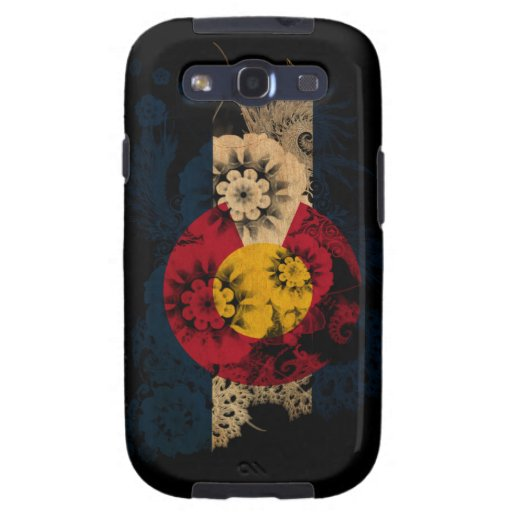 Colorado Flag Samsung Galaxy SIII Cases