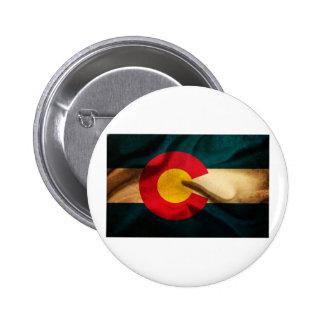Colorado Flag Silky Pins