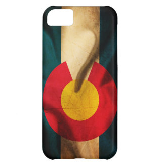 Colorado Flag Silky iPhone 5C Covers
