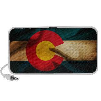 Colorado Flag Silky Travelling Speaker