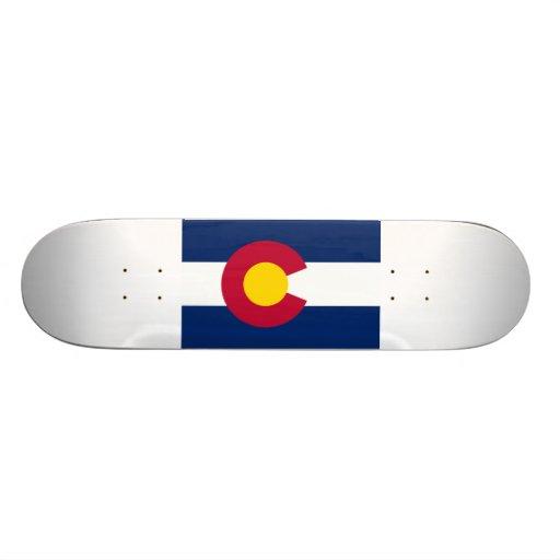 Colorado Flag Skate Deck