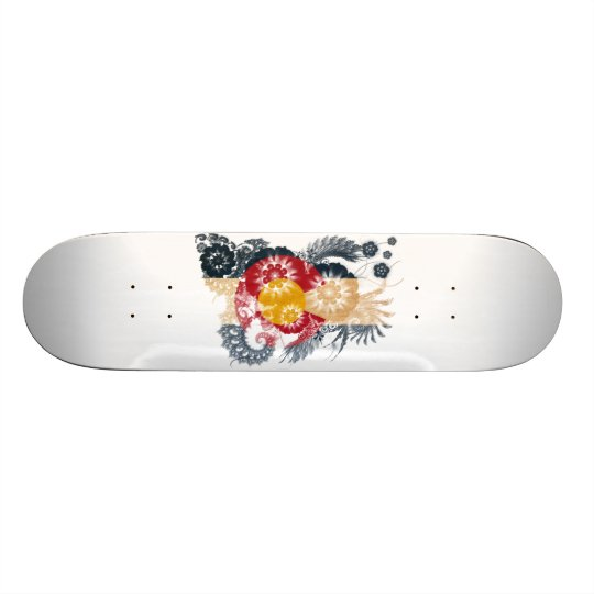 Colorado Flag Skateboard