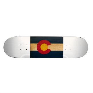 Colorado Flag Skateboard