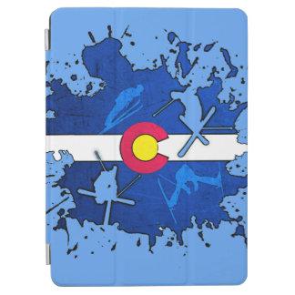 Colorado flag ski splatter ipad air 2 case iPad air cover