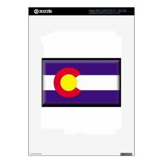 Colorado Flag Skins For iPad 3