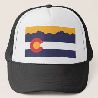 Colorado Flag Skyline Hat