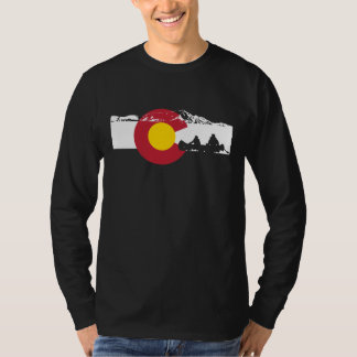 Colorado Flag T-Shirt - Canoe - Canoeing