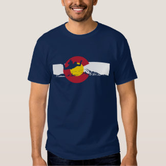 Colorado Flag T-Shirt - Skydive - Skydiving