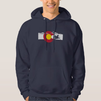 Colorado Flag T-Shirt -  Whitewater Rafting
