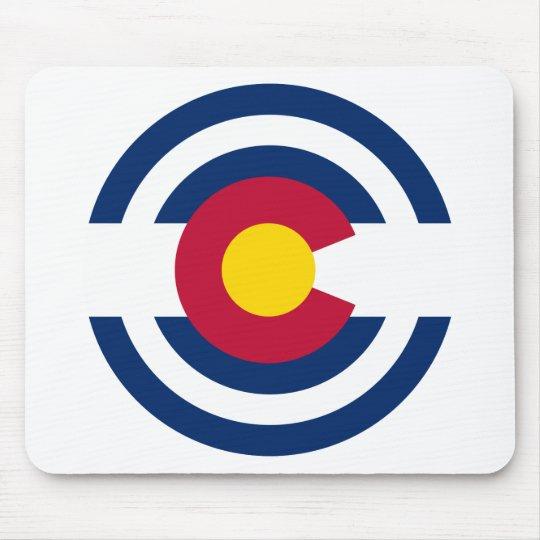 Colorado Flag Theme 00 Mouse Pad