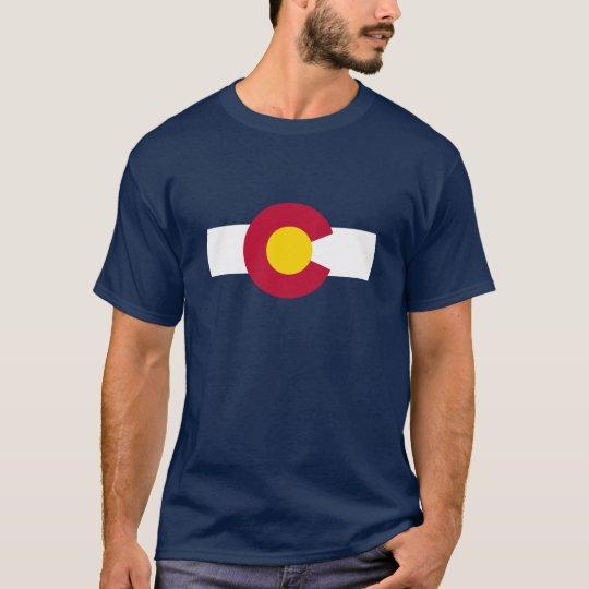 Colorado Flag Theme 00 T-Shirt