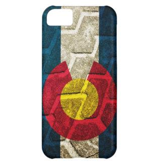 Colorado Flag Tire Tread Cover For iPhone 5C