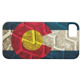 Colorado Flag Tire Tread iPhone 5 Covers