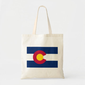 Colorado Flag Tote Bag
