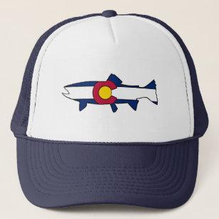 5c77178d1ccb8 ... czech colorado flag trout fish trucker hat 4b633 4f95e