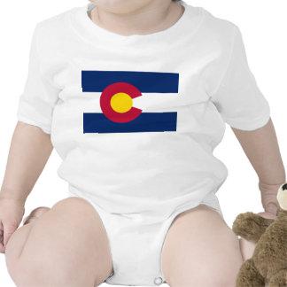 Colorado Flag Baby Bodysuits