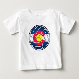 Colorado flag volleyball kids shirt