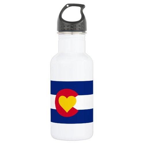 Colorado Flag Water Bottle