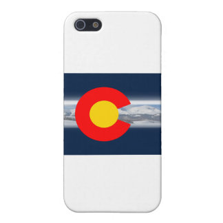 Colorado Flag with Mountains Covers For iPhone 5