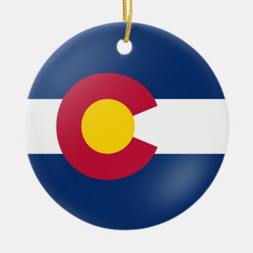 Colorado Flair Christmas Ornaments