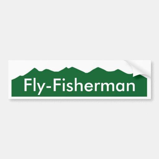 Colorado Fly-Fisherman Bumper Stickers
