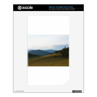 Colorado Foothills Decals For The NOOK Color