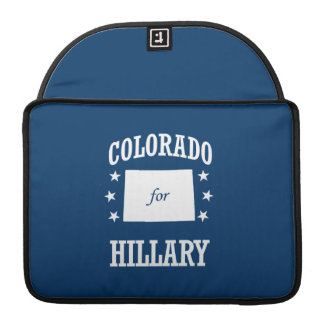 COLORADO FOR HILLARY SLEEVES FOR MacBooks