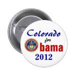 Colorado for Obama 2012 Pins