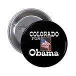 Colorado for Obama Button