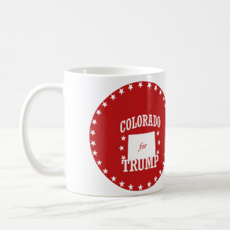 COLORADO FOR TRUMP CLASSIC WHITE COFFEE MUG