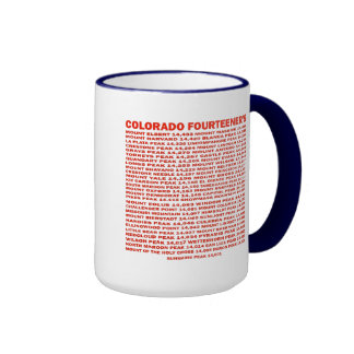 Colorado Fourteener's Ringer Mug