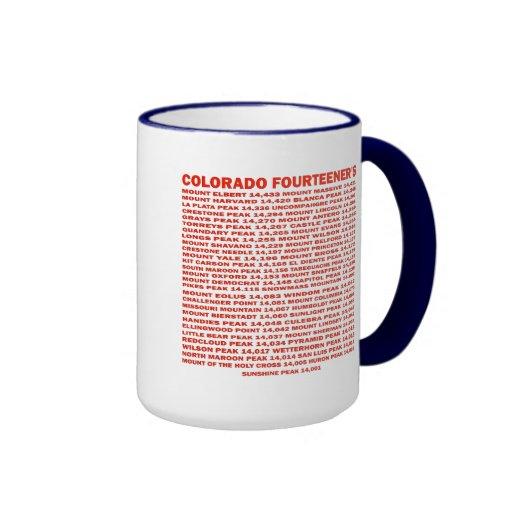 Colorado Fourteener's Mug