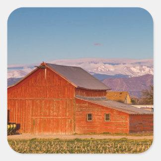 Colorado Front Range Farming Square Sticker