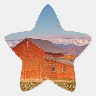 Colorado Front Range Farming Star Sticker