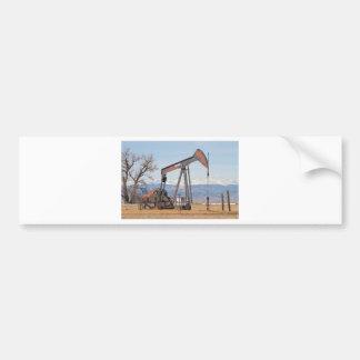 Colorado Front Range Oil Well Pump Car Bumper Sticker