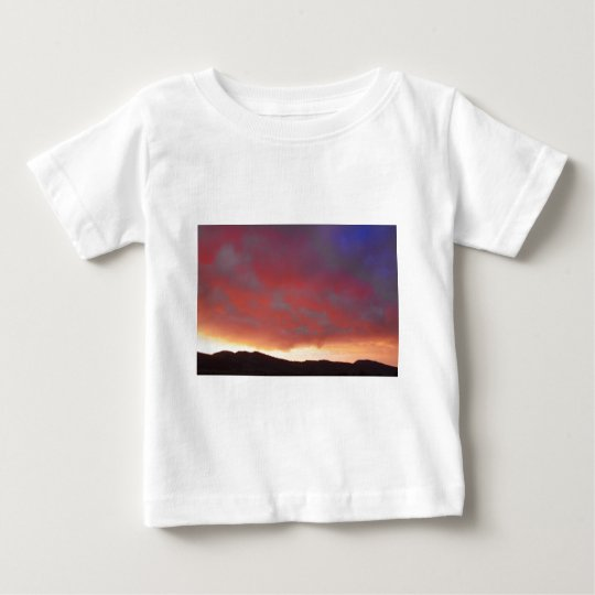 Colorado Front Range Sunset Baby T-Shirt