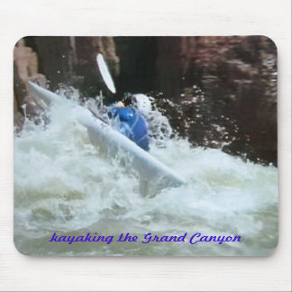 Colorado-fun kayaking the Grand Canyon Mouse Mat