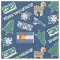 Colorado Fun Pattern Fabric