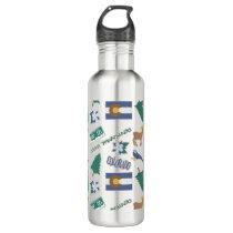 Colorado Fun Pattern Water Bottle