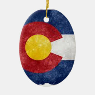 Colorado Gear Ceramic Ornament