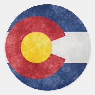 Colorado Gear Classic Round Sticker