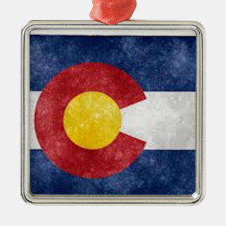 Colorado Gear Metal Ornament